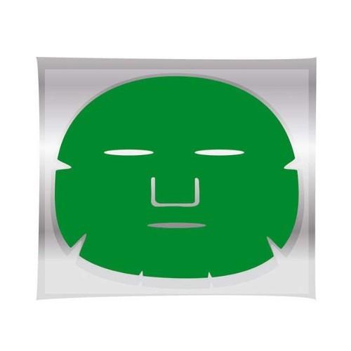 Fotografie Brazil Keratin Pleťová maska/Green Tea Mask regenerační maska na obličej 1 ks