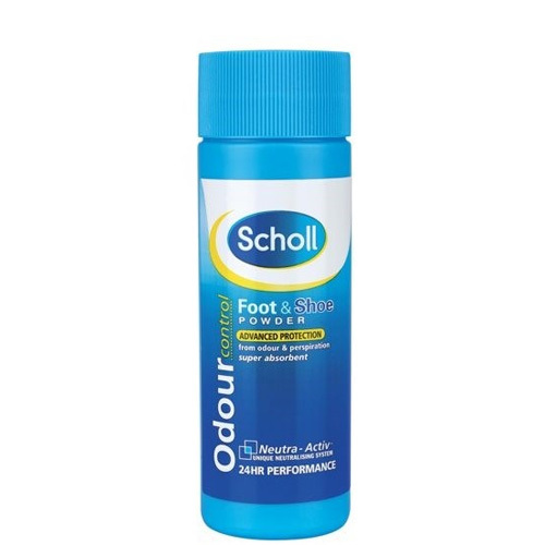 Scholl Zásyp na nohy a do bot Odour Control (Foot & Shoe Powder) 75 g