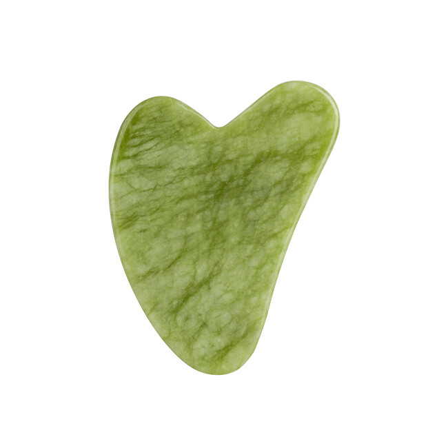 Palsar 7 Masážní destička Guasha zelený xiuyan jadeit (Xiuyan Jade Guasha)