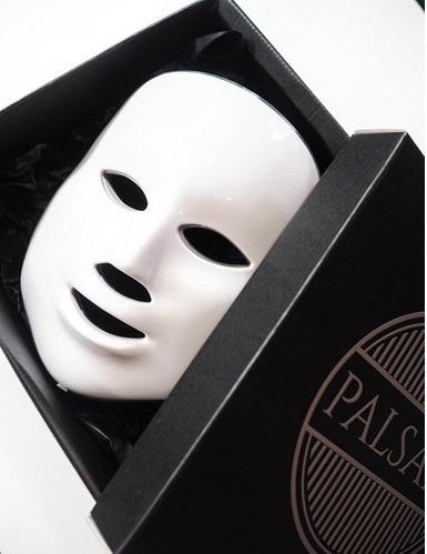 Palsar 7 Ošetřující LED maska na obličej bílá (LED Mask 7 Colors White)