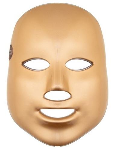 Palsar 7 Ošetřující LED maska na obličej zlatá (LED Mask 7 Colors Gold)