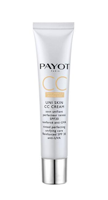 Payot Uni Skin CC Cream SPF30 denný krém na všetky typy pleti 40 ml