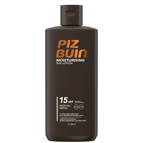 Piz Buin Hydratační mléko na opalování SPF 15 (Moisturizing Sun Lotion) 200 ml