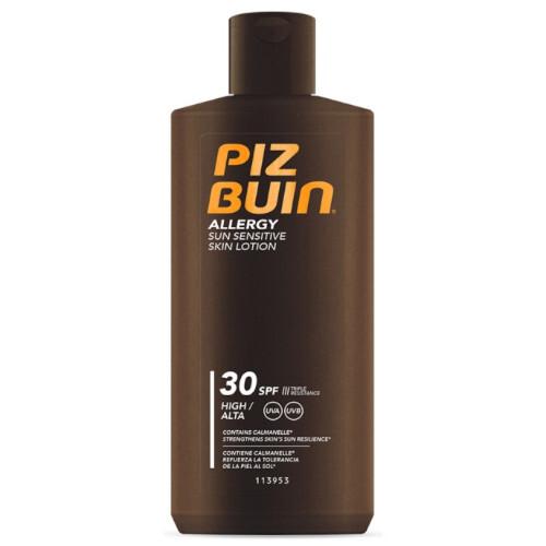 Piz Buin Mléko na opalování pro citlivou pokožku Allergy SPF 30 (Sun Sensitive Skin Lotion) 200 ml