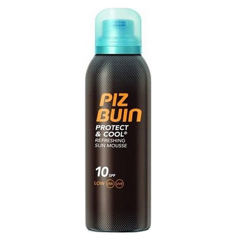 Piz Buin Chladivá pěna na opalování SPF 10 Protect & Cool (Refreshing Sun Mouss) 150 ml