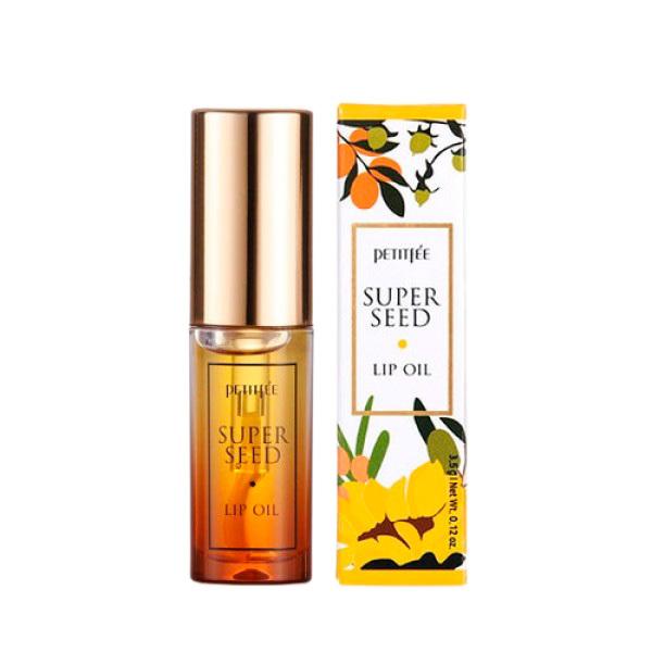Petitfée Vyživující olej na rty Super Seed (Lip Oil) 3,5 g