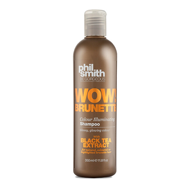 Phil Smith Be Gorgeous Šampon pro hnědé odstíny vlasů Wow! Brunette (Colour Illuminating Shampoo) 350 ml