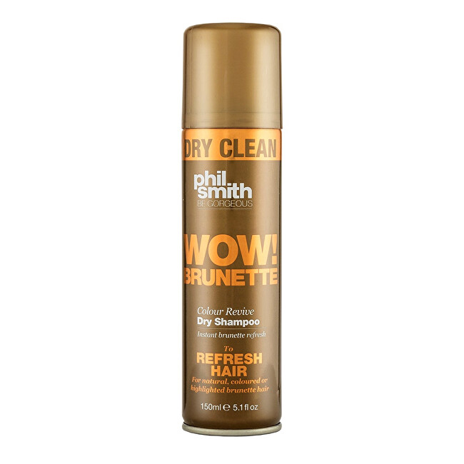 Phil Smith Be Gorgeous Suchý šampon pro hnědé odstíny vlasů Wow! Brunette (Colour Revive Dry Shampoo) 150 ml