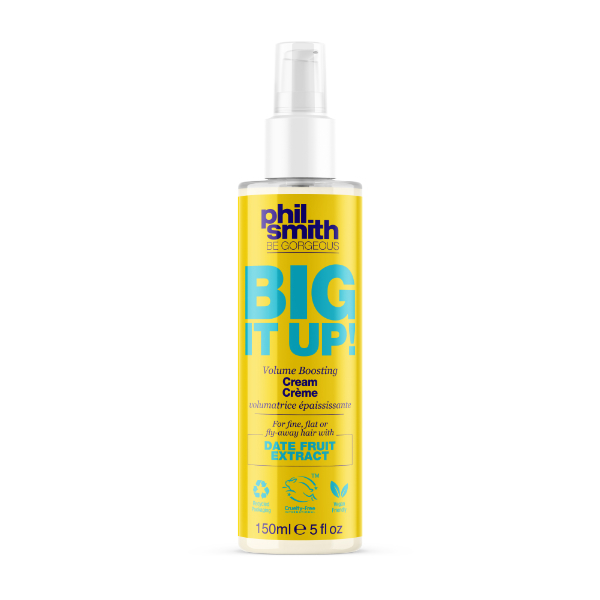 Phil Smith Be Gorgeous Krém pro větší objem vlasů Big It Up! (Volume Boosting Cream) 150 ml