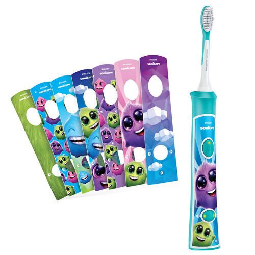 Philips Sonická elektrická zubná kefka pre deti s Blue tooth Sonicare For Kids HX6322 / 04
