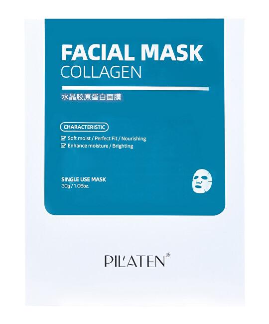 Pilaten Kolagenová maska Collagen Facial Mask 5 x 30 g