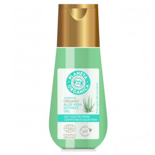 Planeta Organica Gél na intímnu hygienu Organic Aloe Vera (Intimate Gel) 150 ml