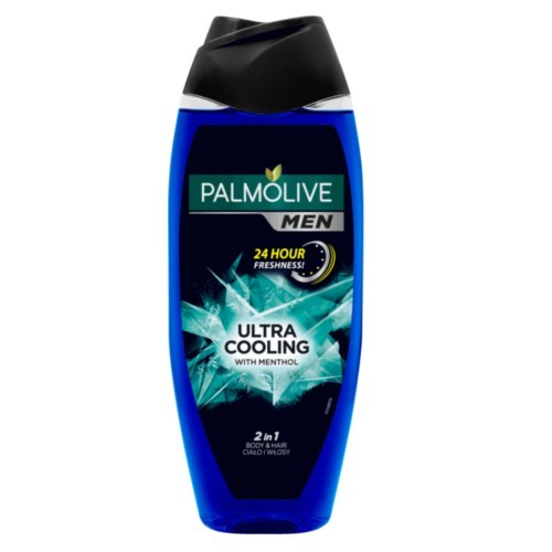 Palmolive Sprchový gel pro muže 2v1 s mentolem For Men (Ultra Cooling With Mentol) 500 ml