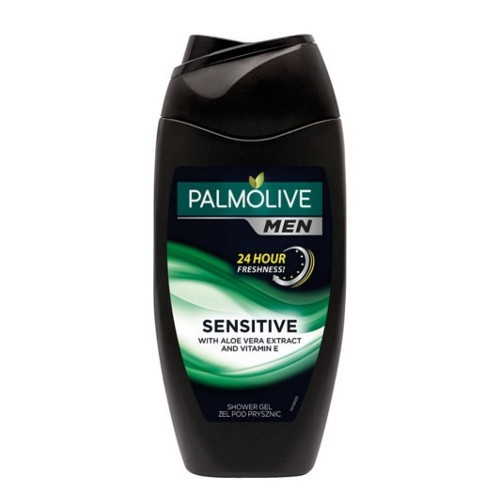 Palmolive Sprchový gel pro muže s vitamínem E a aloe vera For Men (Sensitive With Aloe Vera Extract And Vitamin E) 500 ml