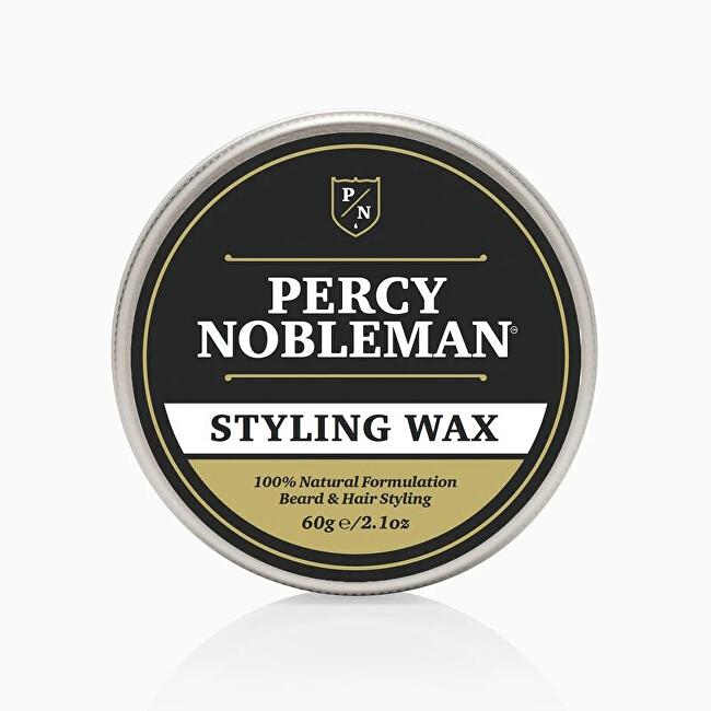 Percy Nobleman Univerzálny stylingový vosk na fúzy a vlasy (Gentleman`s Styling Wax) 60 g
