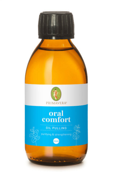 Primavera Olej na ústní hygienu BIO Oral Comfort (Oil Pulling) 200 ml