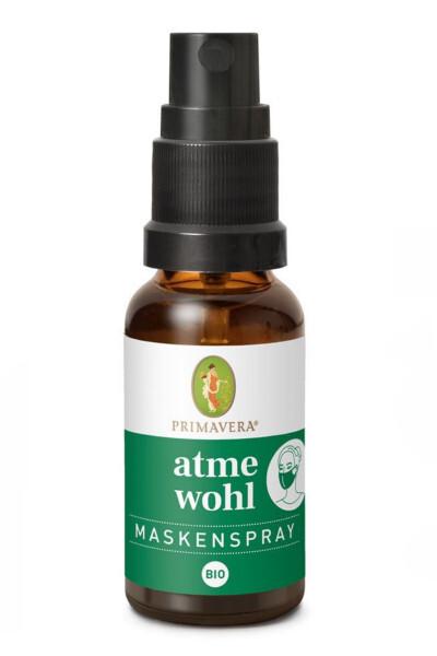 Primavera Osviežujúci a posilňujúci sprej na rúšky Cold Comfort (Mask Spray) 20 ml