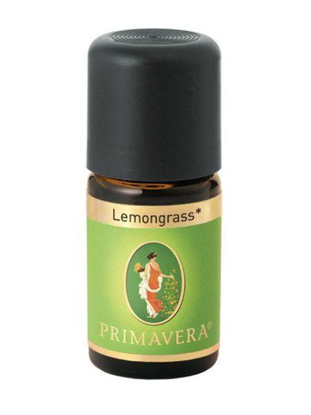 Primavera Přírodní éterický olej Lemongrass Bio 5 ml