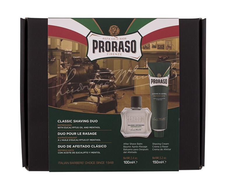 Proraso Darčeková sada osviežujúcich prípravkov na holenie Eucalyptus Oil & mentol