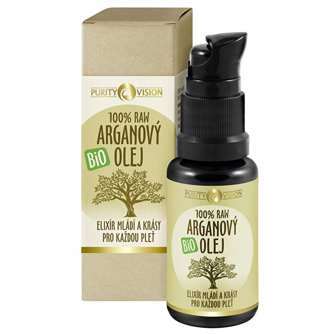 Purity Vision 100% Raw Bio Arganový olej 30 ml