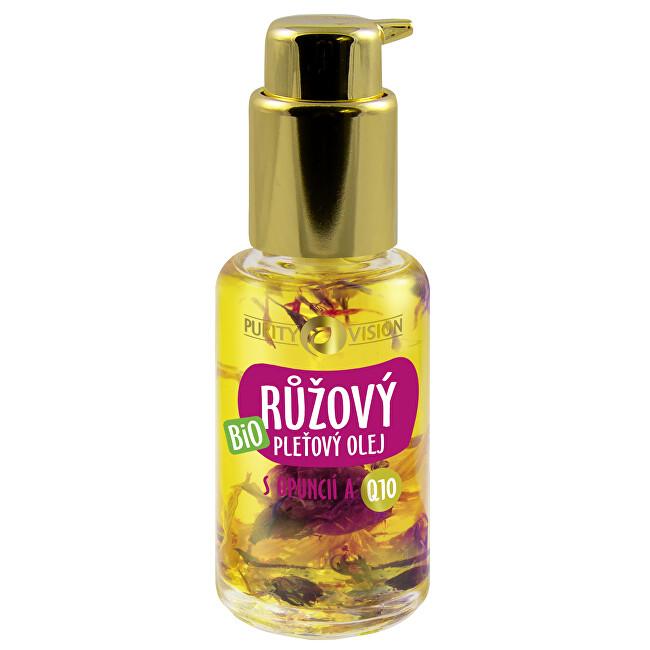Purity Vision Bio Ružový pleťový olej s opuncií a Q10 45 ml