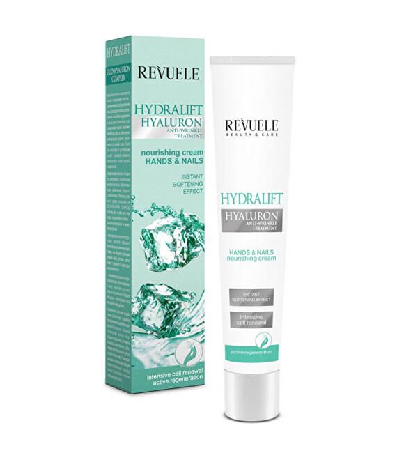 Revuele Hydratačný krém na ruky a nechty s kyselinou hyalurónovou Hydralift Hyaluron (Hands & Nails Nourishing Cream) 50 ml