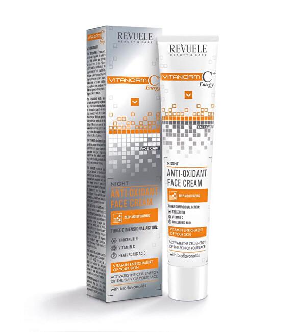 Revuele Noční pleťový krém Vitanorm C+Energy (Night Anti-Oxidant Face Cream) 50 ml