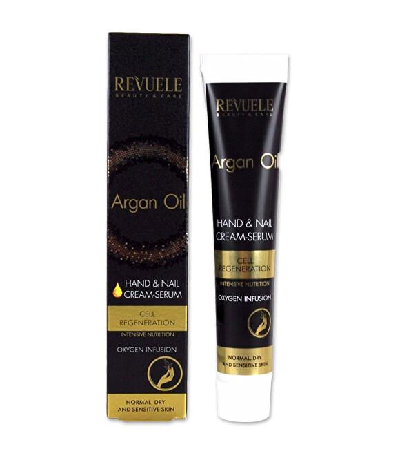 Revuele Regeneračný krém na ruky a nechty s arganovým olejom Argan Oil (Hand & Nail Cream-Serum) 50 ml