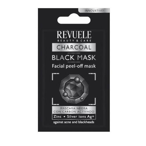 Revuele Slupovací maska s aktivním uhlím Beauty & Care (Black Mask Peel Off) 7 ml