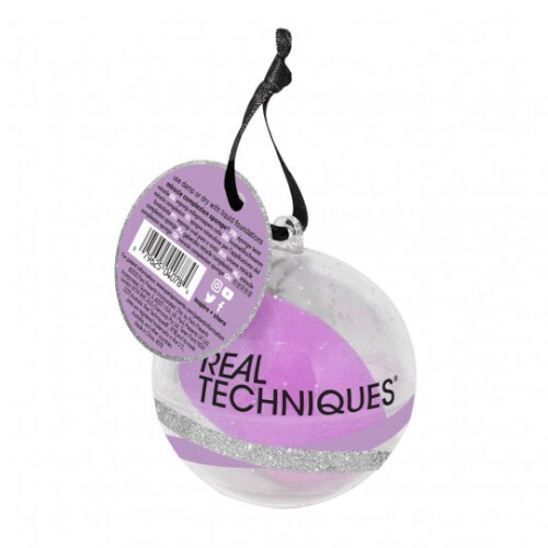 Real Techniques Kosmetická houbička na make-up v dárkovém balení MCS Ornament
