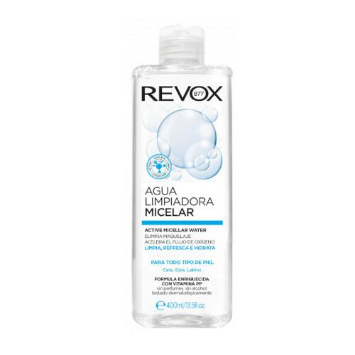Revox Micelární čisticí pleťová voda pro všechny typy pleti (Aqua Limpiadora Micellar) 400 ml