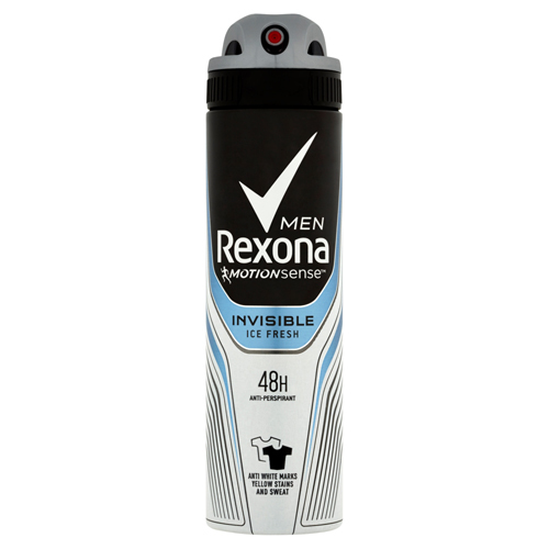 Rexona Antiperspirant ve spreji Men Motionsense Invisible Ice Fresh 150 ml