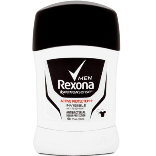 Rexona Tuhý antiperspirant pro muže 48H Active Protection+ Invisible 50 ml
