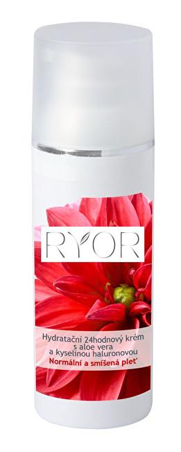 RYOR Hydratačný 24hodinový krém s aloe vera a kyselinou hyalurónovou 50 ml