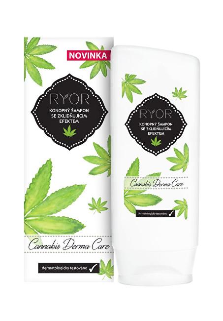 RYOR Konopný šampón s upokojujúcim efektom Cannabis Derma Care 200 ml