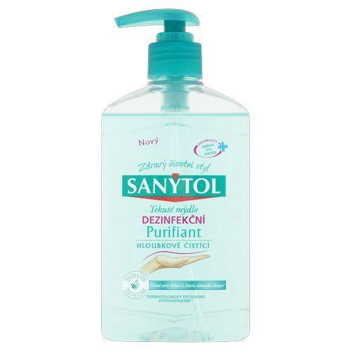 Sanytol Dezinfekční tekuté mýdlo hloubkově čisticí Purifiant 250 ml