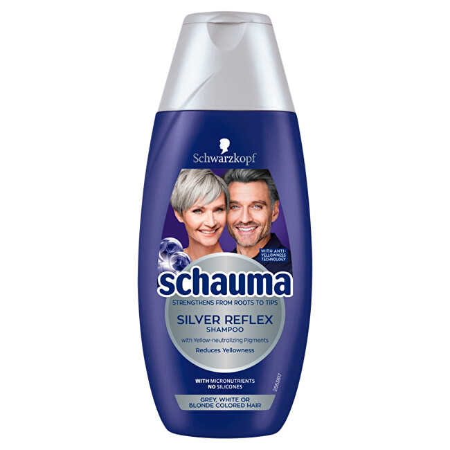 Schauma Šampon proti žlutým tónům Silver Reflex (Shampoo) 250 ml