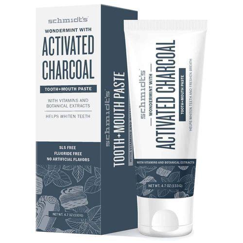 Schmidt´s Zubní pasta s aktivním uhlím Active Charcoal + Magnesium (Toothpaste) 100 ml