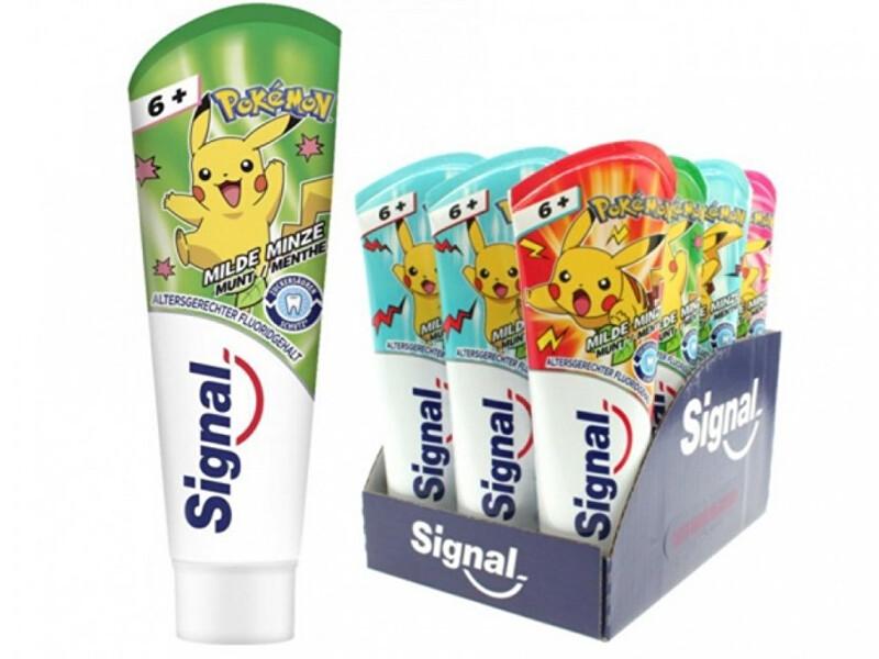 Signal Zubná pasta pre deti Junior 6+ 75 ml