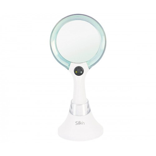 Silk`n Zrcátko s dobíjecím stojanem MirrorLumi LED