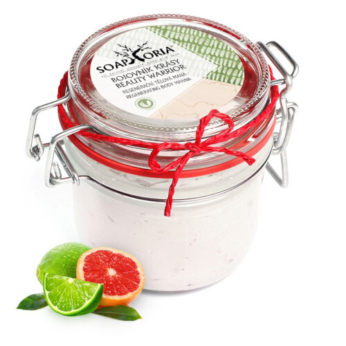 Soaphoria Organický sprchový krém Bojovník krásy (Shower Cream Beauty Warrior) 255 ml