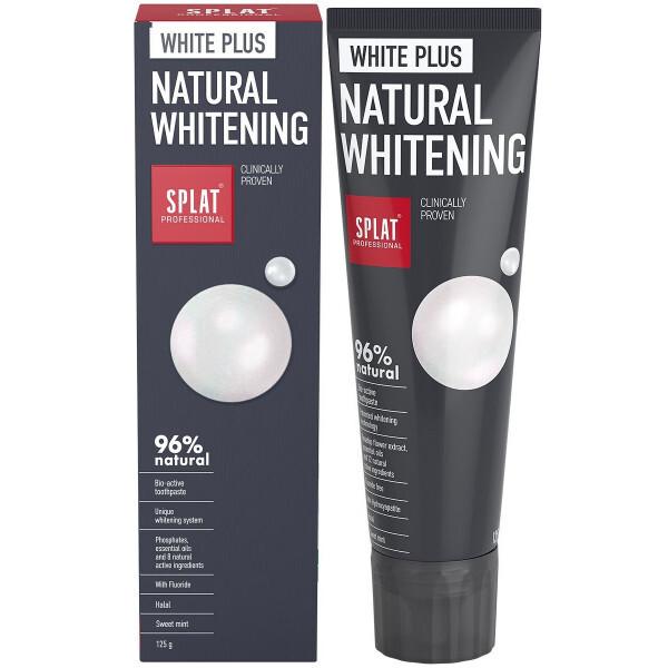 SPLAT Prírodná bieliaca zubná pasta SPLAT BIO Professional WHITE PLUS 125 g