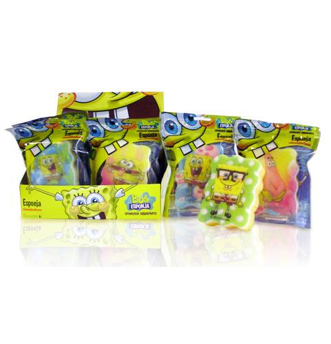 Suavipiel Detská huba na umývanie Sponge Bob (Bob Sponge Bath Sponges)