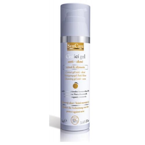 SynCare Čisticí gel anti-akné retinal & silymarin 75 ml