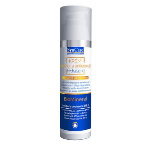 SynCare Hydratační krém na mastnou a smíšenou pleť Biomineral SPF 8 75 ml