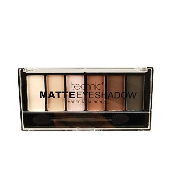 Technic Paletka očních stínů Matte Nudes Eyeshadows