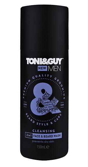 Toni&Guy Šampón na fúzy a tvár (Clea sing 2-in-1 Face & Beard Wash) 150 ml