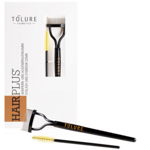 Tolure Cosmetics Hřebínek s kartáčkem na řasy Eyelash & Eyebrow Comb Set