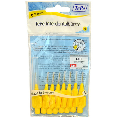 TePe Normal mezizubní kartáčky 0,7 mm 8 ks