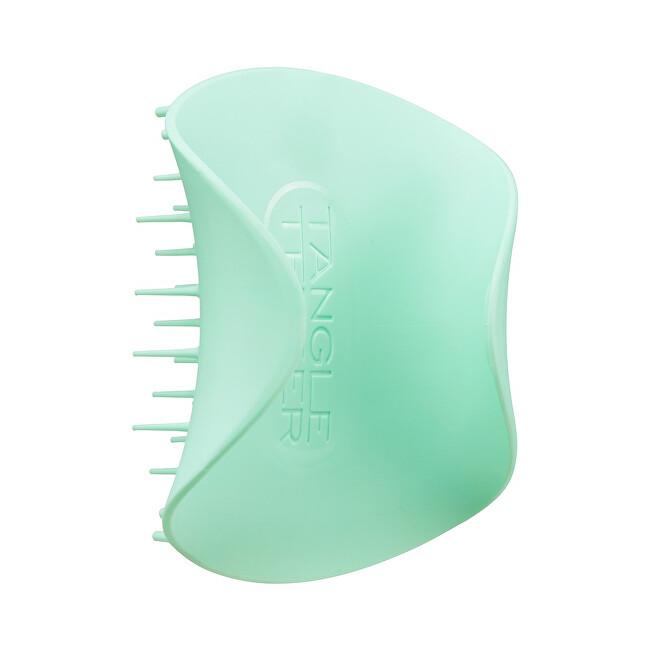Tangle Teezer Masážny exfoliačný kefa na pokožku hlavy Scalp Brush Mint